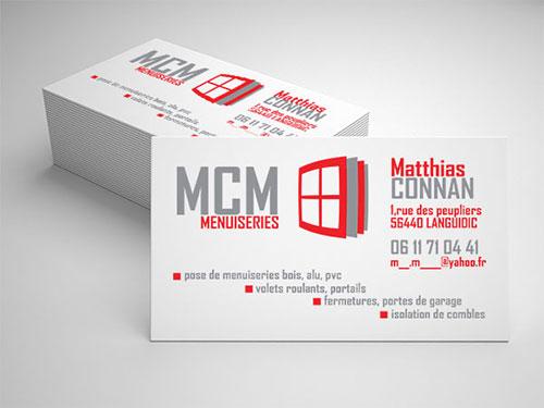 Realisation Carte De Visite Poseur Menuiseries Morbihan