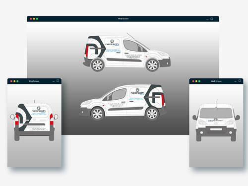 Réalisation covering véhicule de société fabricant de machines outils