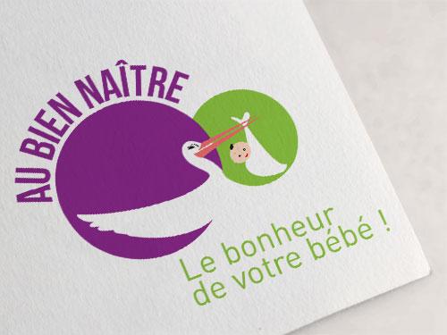 Réalisation logo magasin de puériculture