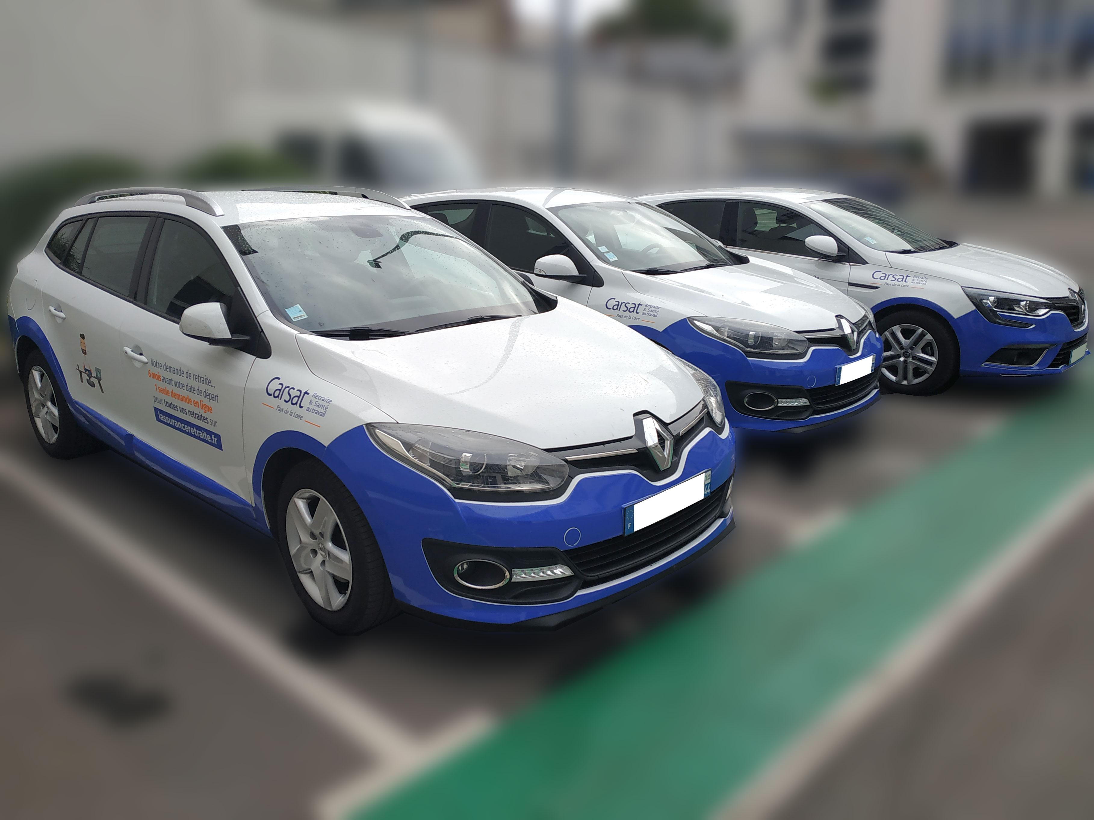 Semi covering voitures de fonction