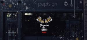 Pour les fêtes de Noël, boostez vos ventes avec une vitrine unique !